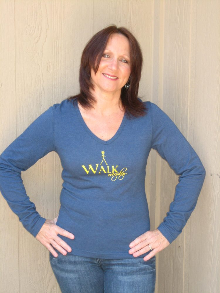 Walk Everyday - long sleeve tee